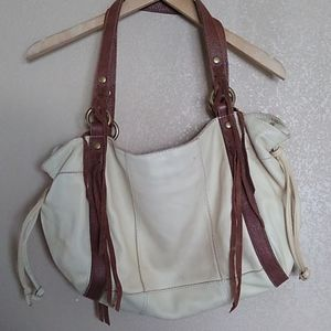 Lucky Brand Soft Leather Sloutchy Large, Tan/Brown